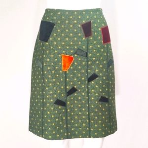 Moschino Vintage Cheap and Chic Applique Skirt